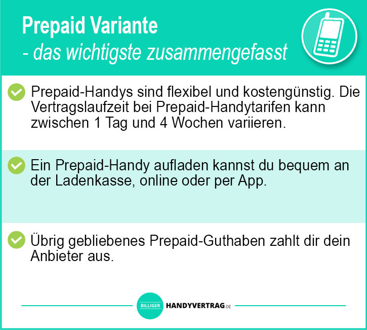 Handyvertrag Test Prepaid